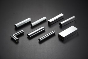 Chrome-plating for inox, alluminium and brass